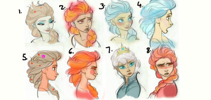 Elsa Colours by Tazhia