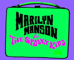 Marilyn Manson Lunchbox Pop art by zombis-cannibal