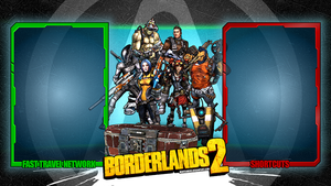Borderlands2 Wallpaper - Interface V3 by mentalmars