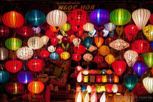 Ngoc Hoa Silk Lanterns by DrewHopper