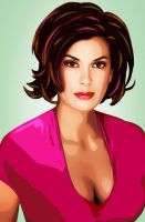 Teri Hatcher by LilyMagpie
