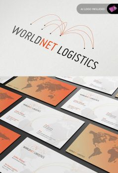 Stationary + Identity - World Net Logistics by isoarts2