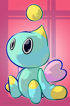Neutral Chao - Day 1372 by Seracfrost