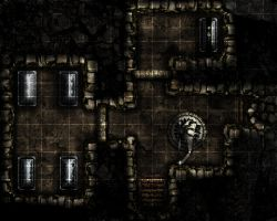 Crypt Level 5 by RealMarkP