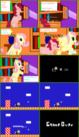Retro Pony Pixels: Twilight's Arcade Machine P-2 by Zztfox