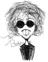 Tim Burton Caricature by House-of-Creativity