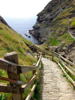Tintagel castle 8 - June 2016 by MorgainePendragon