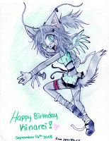 HAPPY BIRTHDAY KINAREI by Sparky2hot4ya