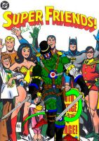 PackRat Joins The Super Friends Cover by BooRat