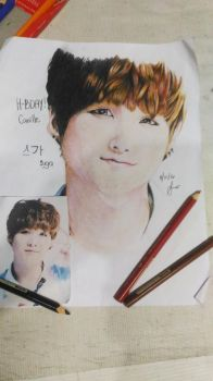 Suga from BTS by YaoiIsMyBet