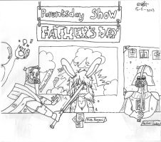 Parentsday (Show) - Dangerous Father's Day 2013 by UsagiTail