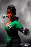 Beware My Power GREEN LANTERNS LIGHT!! by ComicChic19