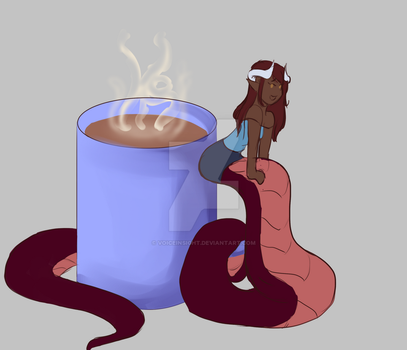Chibi Coffee by voiceinsight