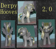 Derpy Hooves 2.0 by phasingirl