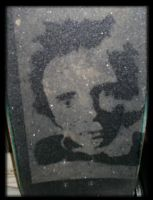 Johnny Rotten Stencil by RAK11