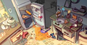 Visual Development: Kitchen by taho