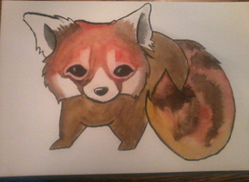 Red-Panda by PockiStyle