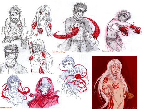 DMW sketches by lauu7