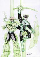 Green Lantern galore by Mace2006