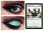 Magic Card Makeup Phyrexian Hydra by nazzara