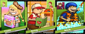 Work in Progress - Nick Greg And Yippy Collage by hershey990