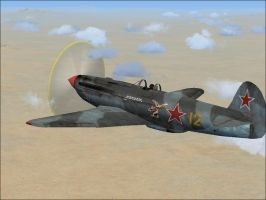 Yakolev Yak 9 by Jamie-the-Luxray-95