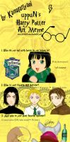 Uppun's Harry Potter Meme by KamatariYaoi