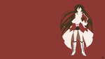 Alice (Pandora Hearts) Minimalist Wallpaper by greenmapple17