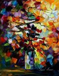 Flowers for my love- oil Abst by Leonidafremov