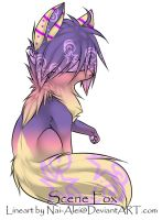 Blind Scene Fox Adoptable ~ 17 closed by BiahAdopts