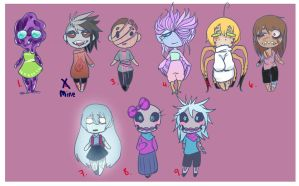 [Closed] More 60 point Adopts by Chibi-Works