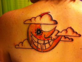 Narami's Soul Eater Tattoo by CosplayAnonymae