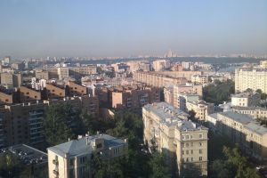 Moscow from 18th floor by zhuravlik26