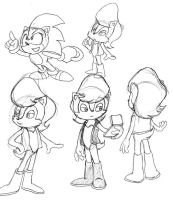 Sally sketches by adamis