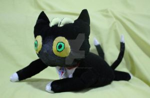 Plushie : Blackie from Ao No Exorcist by marikit