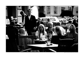 Afternoon Coffee in Berlin by whitestone