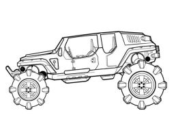 Buggy_Ground Vehicle concept3a by FeirceRaven