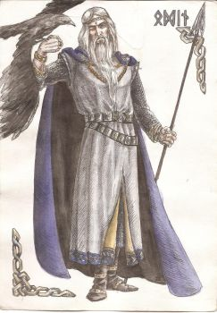 Odin by Righon