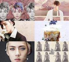 [Exo As a Color] Sehun - Beige by ajikaji