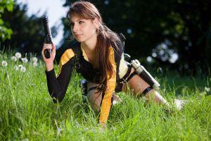 Lara Croft - Meadow Raider by ChristophGerlach