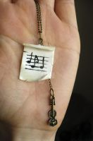 Music Necklace by color-bucket