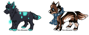 Canine Auction [CLOSED] by PAKALUADOPTABLES