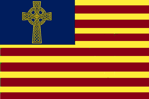 Blyskalia Colonial Flag II by Claudius42