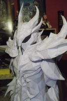 Daedric armor All Paper by PriamWolf