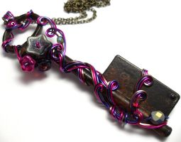 Passage Necklace no. 253 by sojourncuriosities