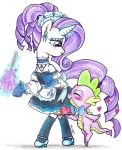 Maid Rarity and the Little Butler by Matsuban