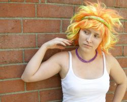 fire hair 4 by PhoeebStock