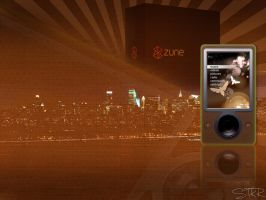 Zune City - Brown by stkr