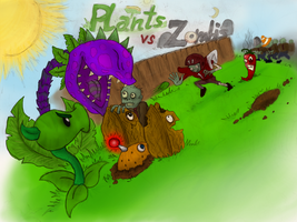 Plants Vs Zombies by G-DX