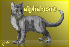 Alphaheart -comm- by TheMoonfall
